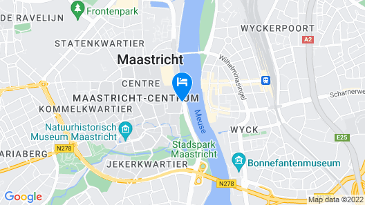 easyHotel Maastricht City Centre Map