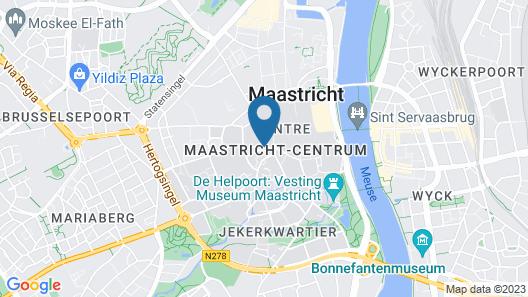 Maison Haas Hustinx & Spa Map