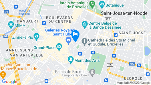 NH Brussels Grand Place Arenberg Map