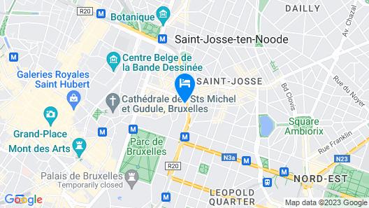 Résidence Regent 55 Map