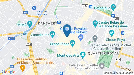 Hotel Saint Nicolas Map