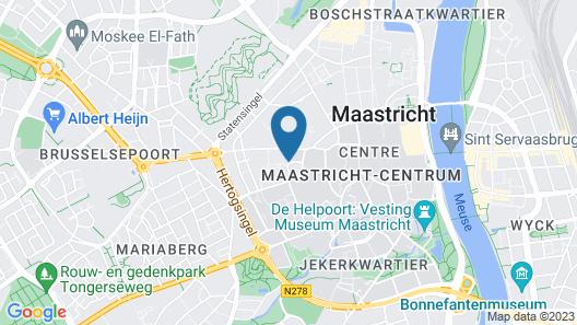 Kruisherenhotel Maastricht Map