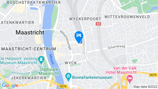 Kaboom Hotel Maastricht Map