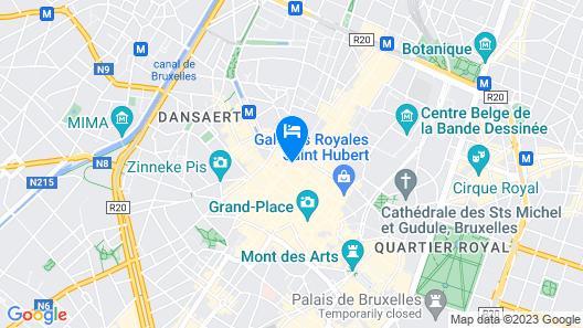 ApartmentsApart Brussels Map