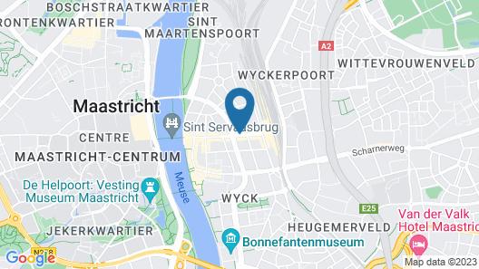 Designhotel Maastricht Map
