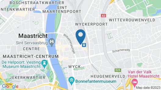 Amrâth Grand Hotel de l'Empereur Map