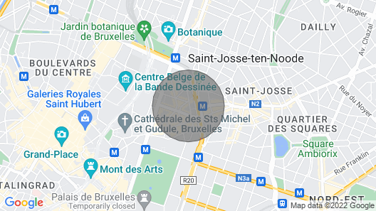 Estúdio Aconchegante + Terraço Completo Map