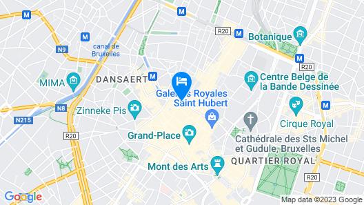 Aparthotel Adagio Brussels Grand Place Map
