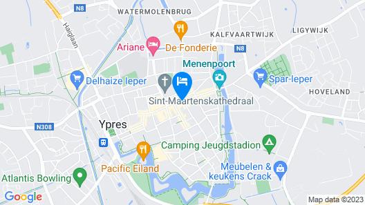 Hotel O Ieper Map