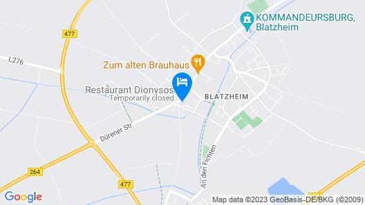 Hotel Restaurant Neffelthal Map