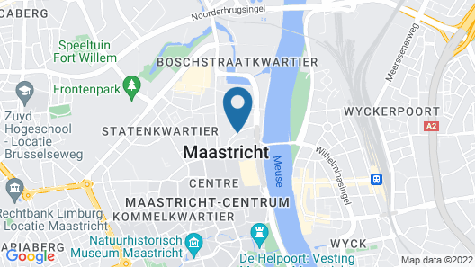 Mabi Hotel Centrum Map