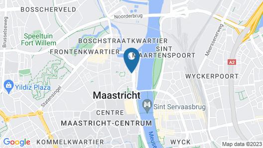 Hotel Bigarre Maastricht Centrum Map