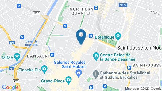 Marivaux Hotel Map