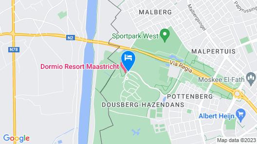 Dormio Resort Maastricht  Map