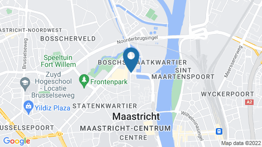 The Student Hotel Maastricht Map