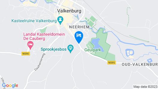 Parkhotel Valkenburg Map
