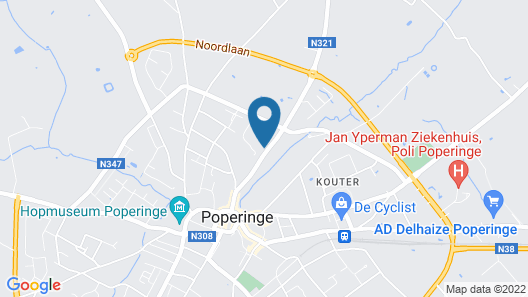 Romantik Hotel Manoir Ogygia Map