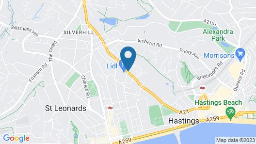 Summerfields House Map