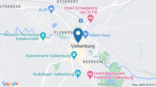 Black Label Hotel Valkenburg Map