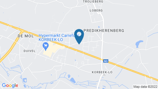 be hostel Map