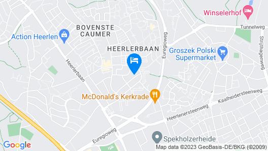 Cosy Apartment in Heerlen With Terrace Map