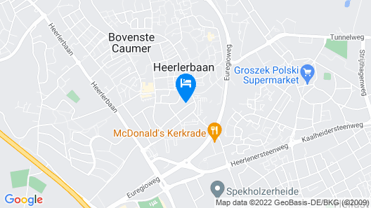 Holiday Home in a Very Quiet Residential Area of Heerlen Map