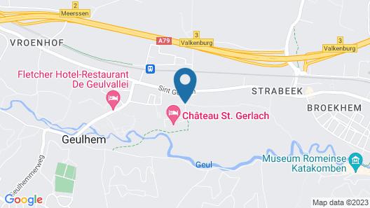 Chateau St Gerlach Map