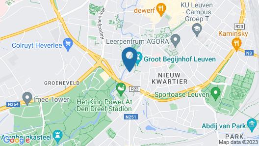Begijnhof Hotel Map