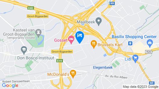 Gosset Hotel Map