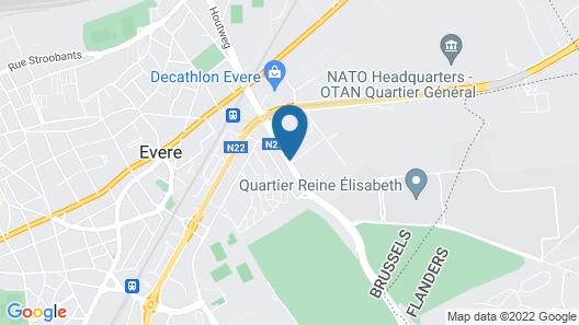 Mercure Brussels Airport Map