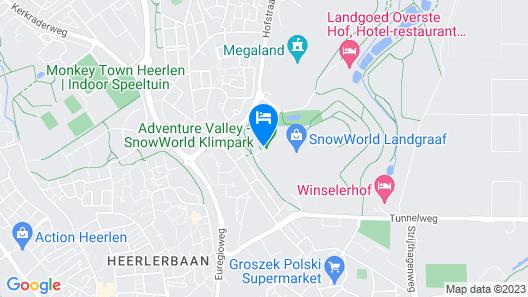 Hotel SnowWorld Landgraaf Map