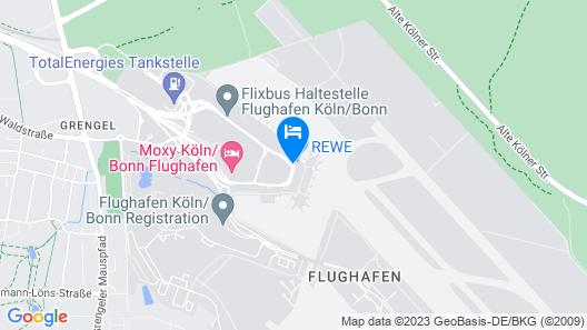 Moxy Cologne Bonn Airport Map