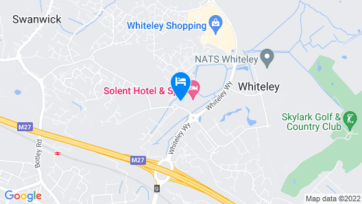 Solent Hotel and Spa Map