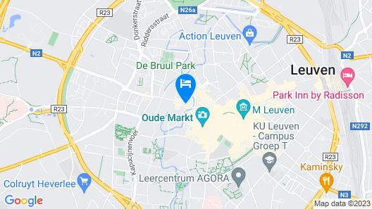 ibis Leuven Centrum Map