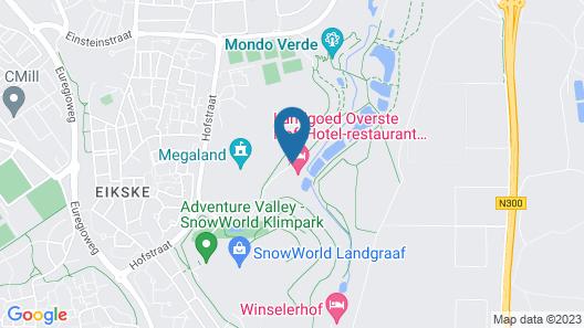 Landgoed Overste Hof Map