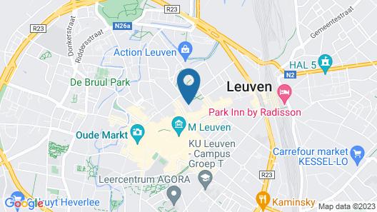 Ambassador Suites Leuven Map