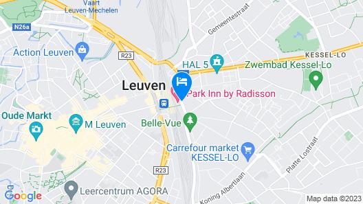 Park Inn By Radisson Leuven Map