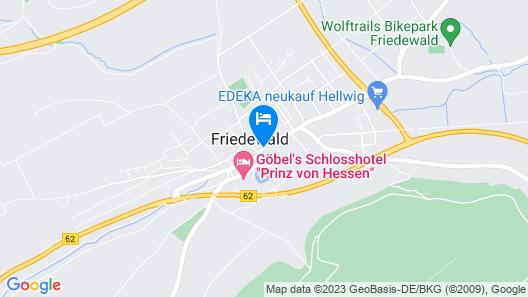 Hotel Am Dreienberg Map