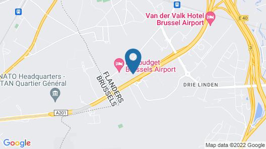 ibis Brussels Airport Map
