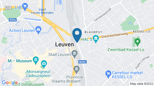 ibis budget Leuven Centrum Map