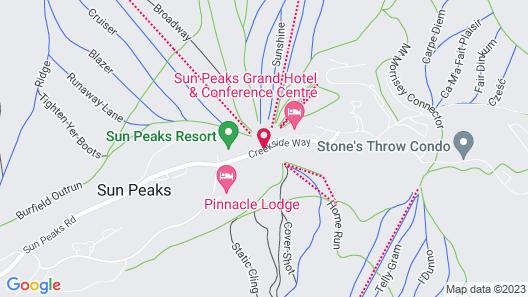 Coast Sundance Lodge Map