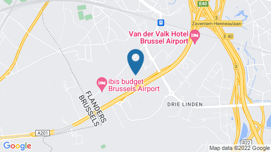Holiday Inn Brussels Airport, an IHG Hotel Map