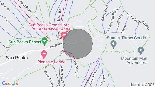 Luxury Condo in Sun Peaks Alpine Village Centre Map