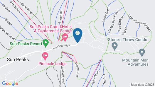 Kookaburra Lodge by Bear Country Map