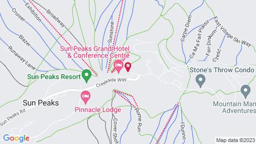 Sun Peaks Grand Hotel & Conference Centre Map