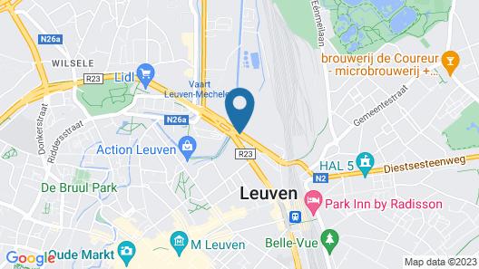 Novotel Leuven Centrum Map