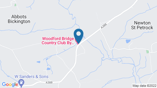 Woodford Bridge Country Club by Diamond Resorts Map