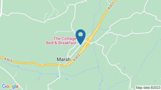 The Cottage Marsh B&B Map