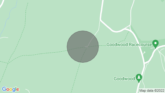 The Rubbing House, Goodwood Map