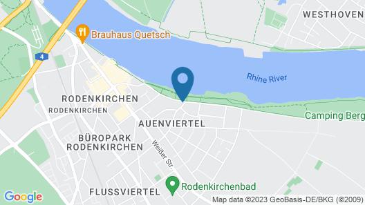 Villahotel Rheinblick Map